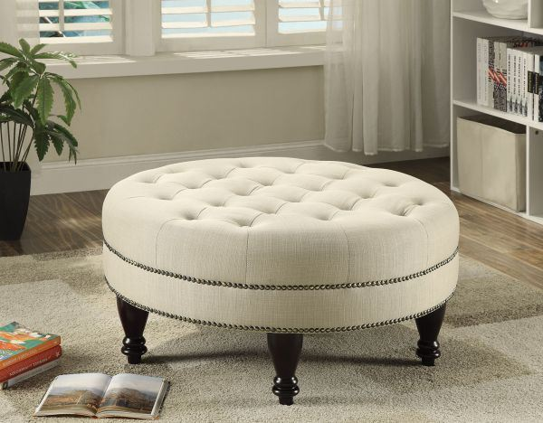 Picture of Oatmeal Ottoman *D