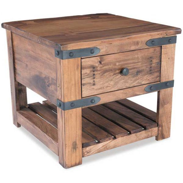 Picture of Parota End Table with Drawer