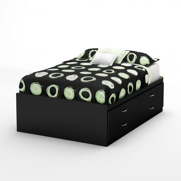 Picture of Step One Full Captain Bed *D