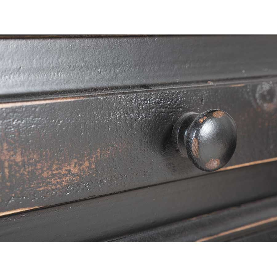 """Picture of Black Isabella 82"""" TV Console"""