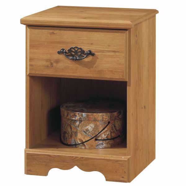 Picture of Prairie 1-Drawer Night Stand *D