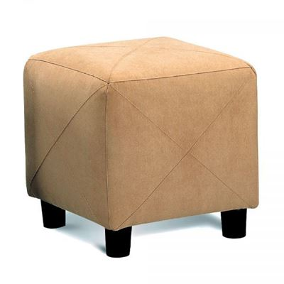 Picture of Taupe Ottoman *D