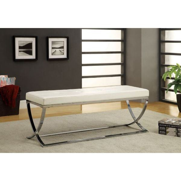 Picture of Bench, White *D