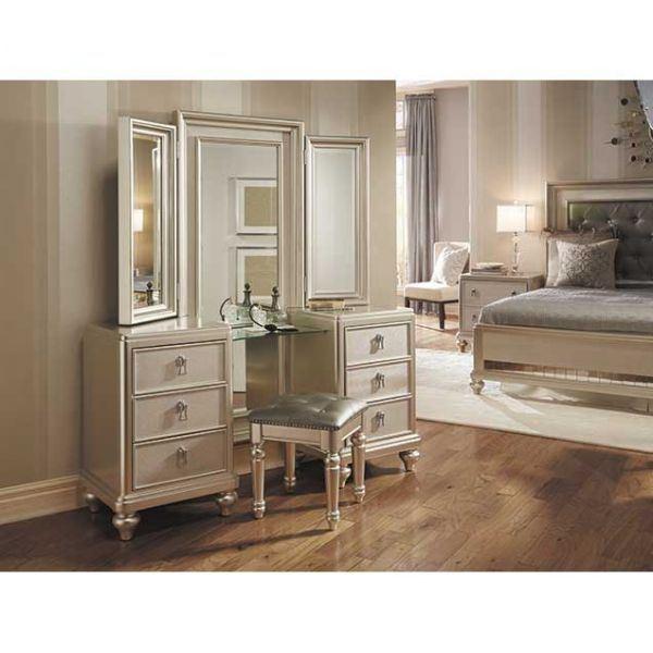 Diva Vanity Dresser Mirror Set 8808 Vanity Samuel Lawrence Afw Com