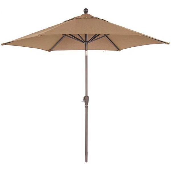 Picture of 9FT Push Tilt Umbrella Sesame