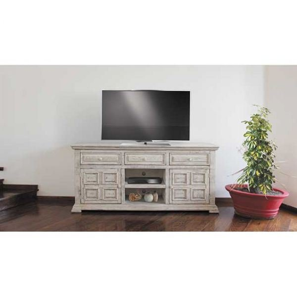 "Picture of Isabella White 71"" TV Console"