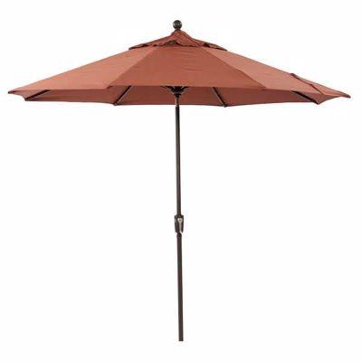 """Picture of 9"""" Umbrella Auto-Tilt -Terra Cotta"""