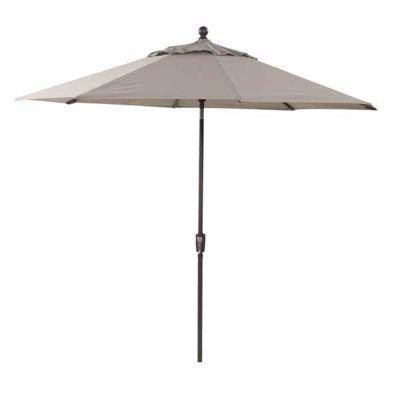 """Picture of 9"""" Umbrella Auto-Tilt-Taupe"""