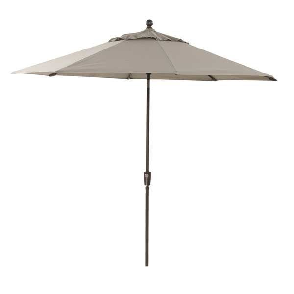 "Picture of 9"" Umbrella Auto-Tilt-Taupe"