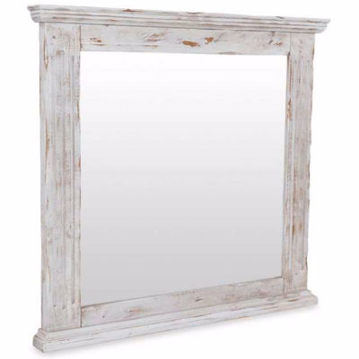 Picture of Isabella White Mirror