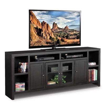 "Picture of 84"" Essentials Black TV Console"