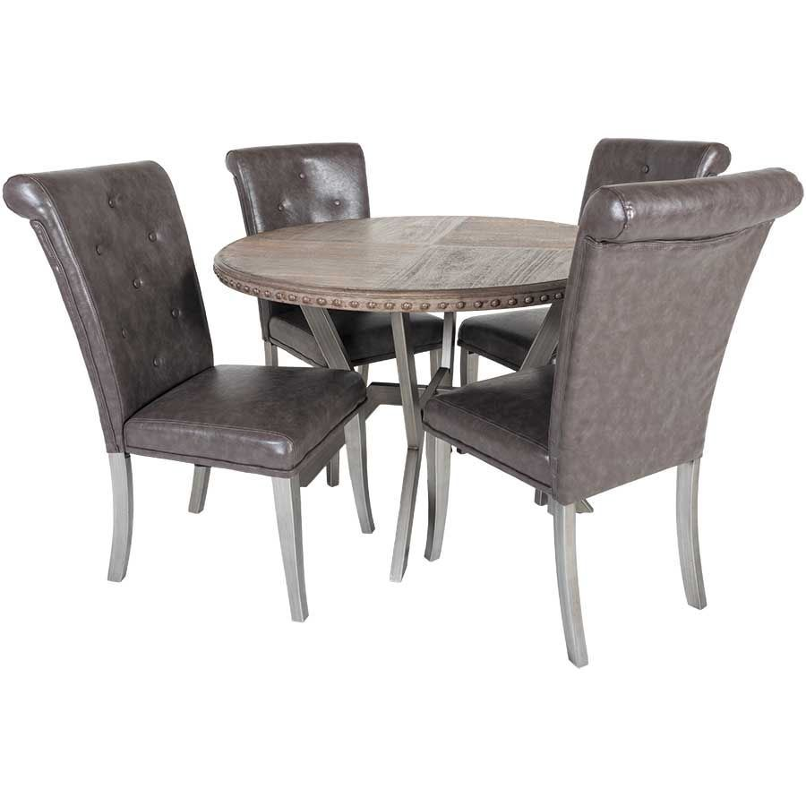 Mystique 5 Piece Dining Set