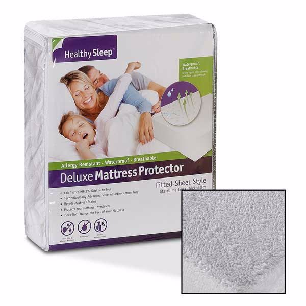 Picture of Healthy Sleep Mattress Protector Twin