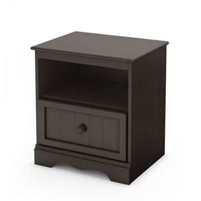 Picture of Savannah 1-Drawer Brown Night Stand *D
