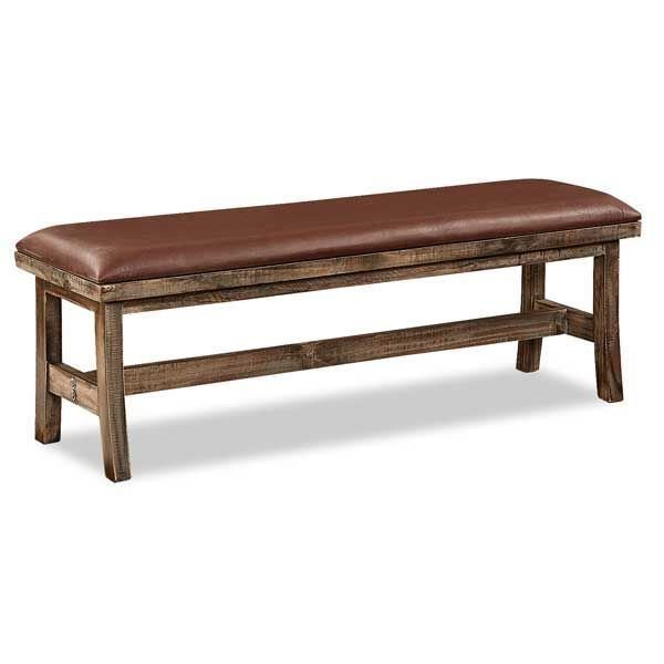 Picture of Antique Rustic Bench