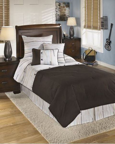 Picture of Stickly Twin Comforter Set *D