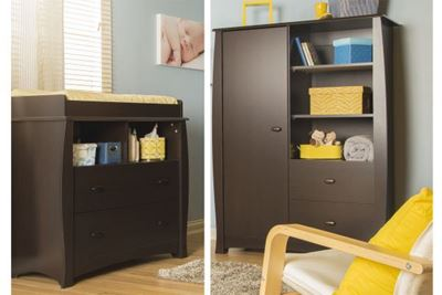 Picture of Beehive Changing Table & Armoire *D