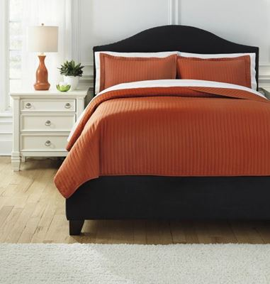 Picture of Solid King Comforter Set *D
