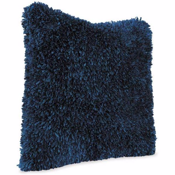 Picture of 22x22 Navy Fringe Pillow *P