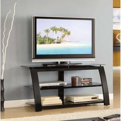 """Picture of 50"""" TV Stand, Glossy Black"""