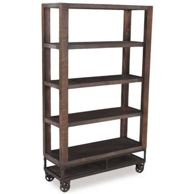 "Picture of Urban Gold 70"" Bookcase"
