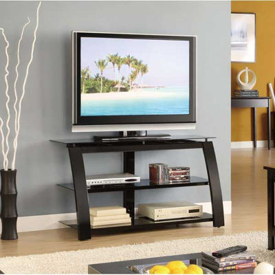 """Picture of 40"""" TV Stand, Glossy Black"""