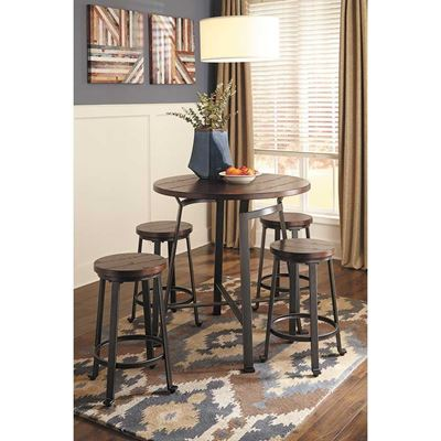 Picture of Challiman 5 Piece Counter High Set