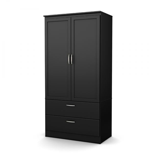 Picture of Black Acapella Wardrobe Armoire *D