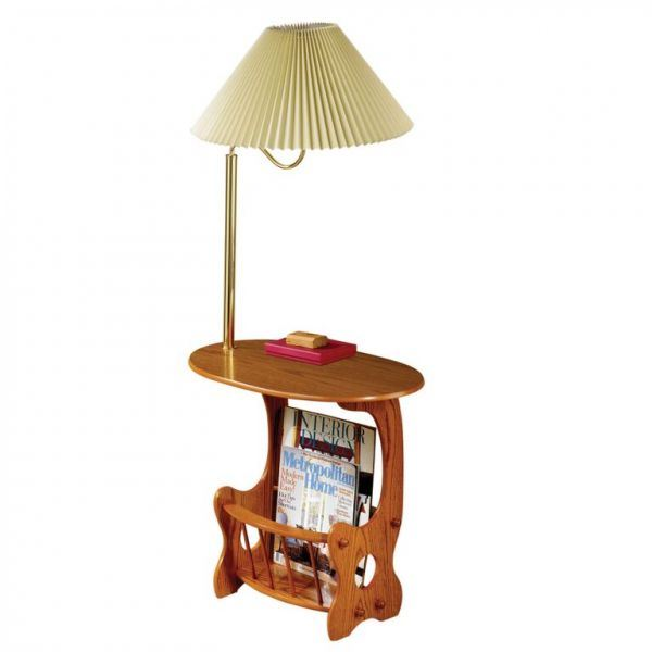 Picture of Magazine Table, Warm Brown *D