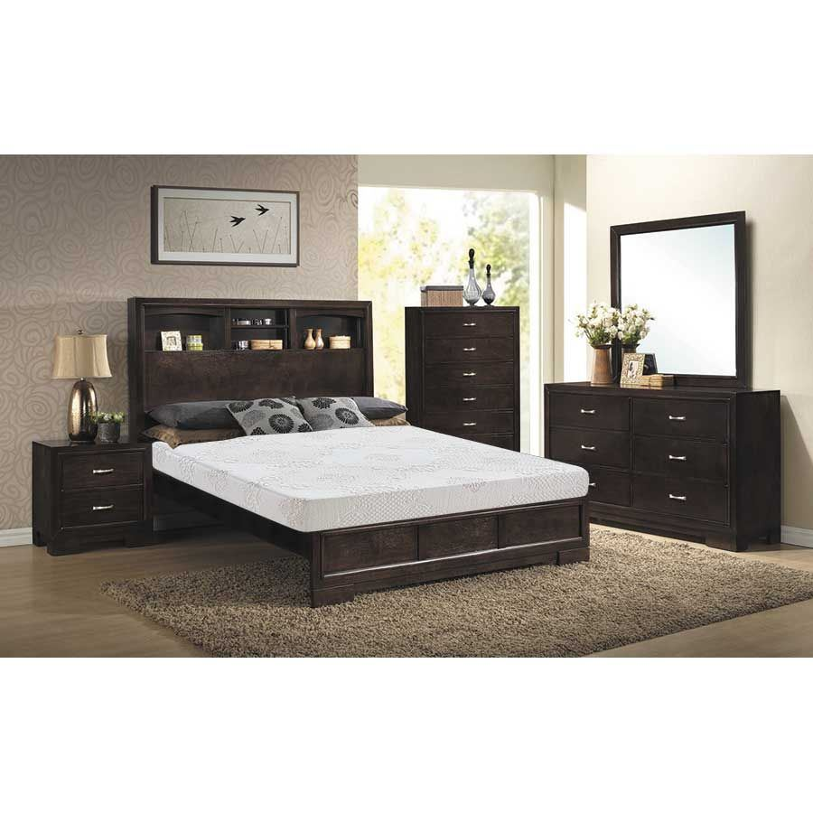 Mya 5 Piece Bedroom Set | Z-4233-QBED/20/30/40/50 | Lifestyle ...