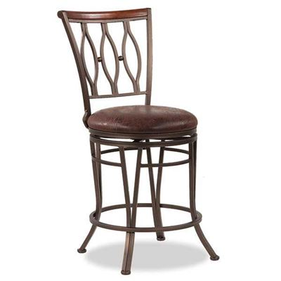 "Picture of Marsol 24"" Swivel Barstool"
