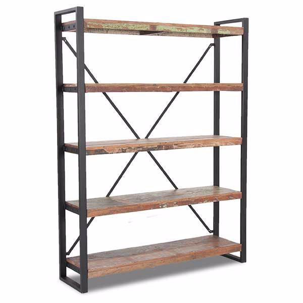 Picture of Vintage Industrial Bookcase