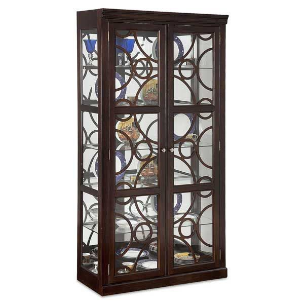 Picture of Retro Walnut Curio