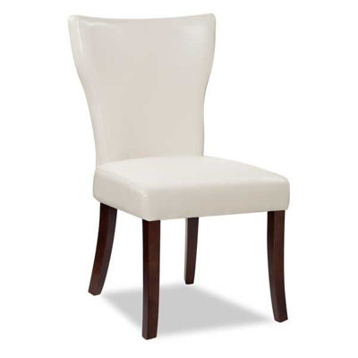 Picture of Wing Parsons Chair - White Bonded Leather