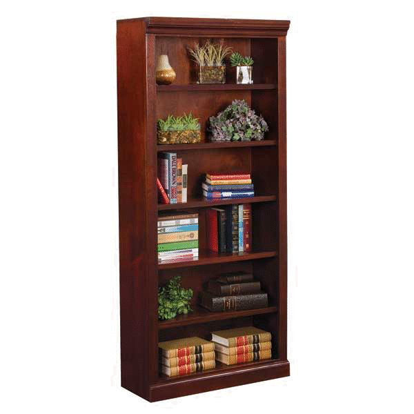 Picture of Versailles Cherry Bookcase - 5 Shelf