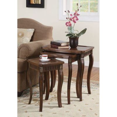 Picture of Nesting Tables, Warm Brown *D