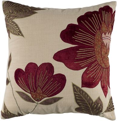 Picture of 18x18 Truly Ruby Decorative Pillow *P