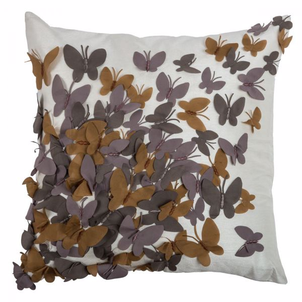 Picture of 18x18 Butterfly Punch Decorative Pillow