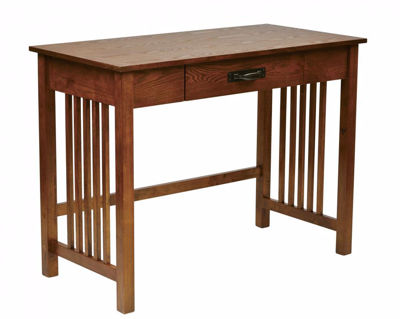Picture of Sierra Oak Computer Desk *D