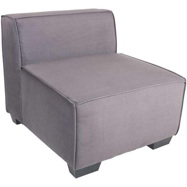 Picture of Zara Dark Gray Armless Chair