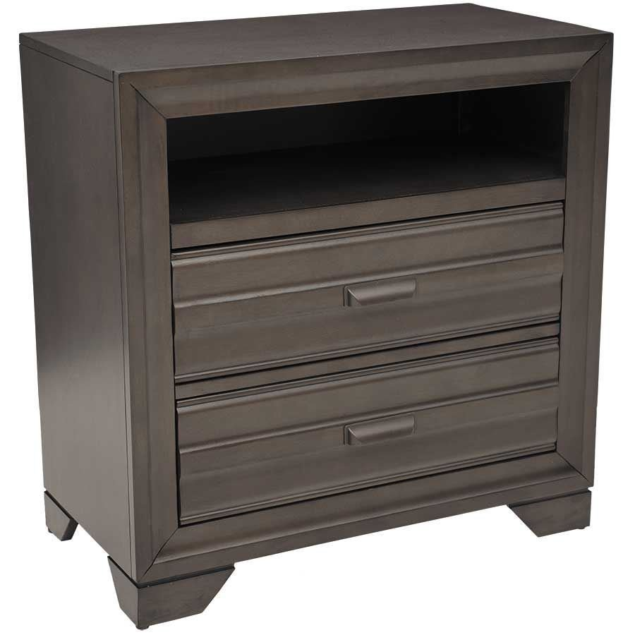 Picture of Antique Grey Media Chest