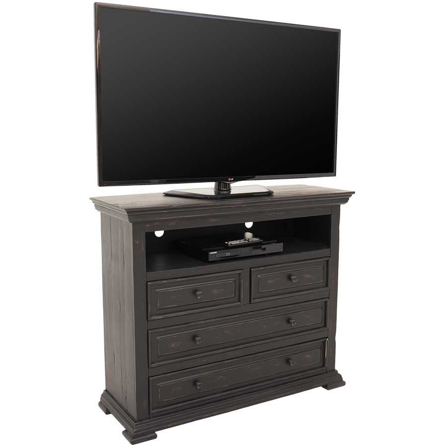 Picture of Black Isabella Media Chest