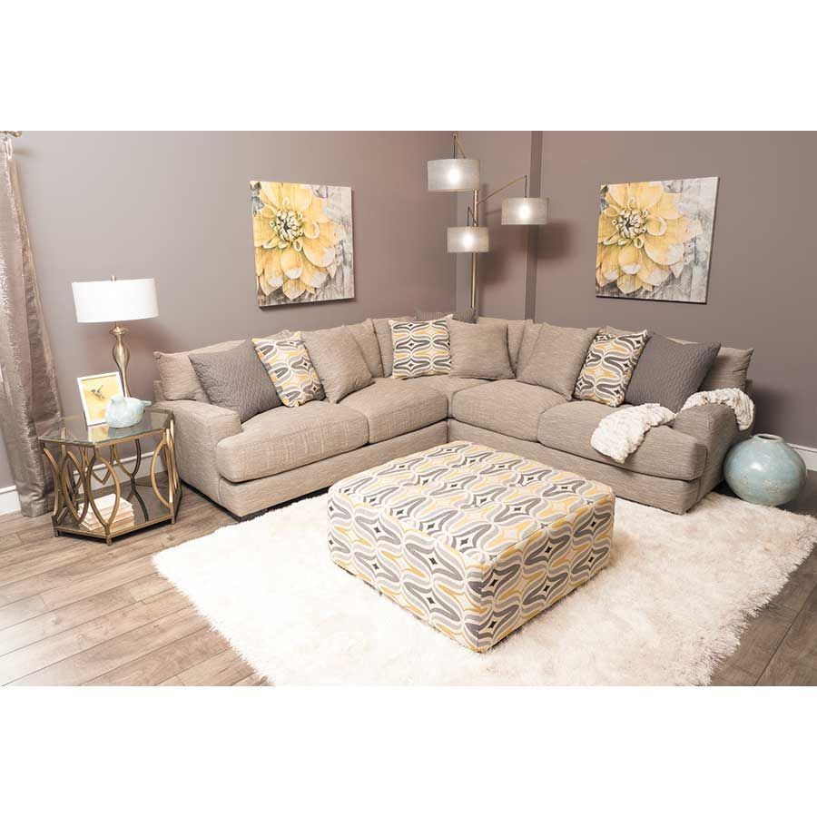 Barton 3PC Sectional Sofa