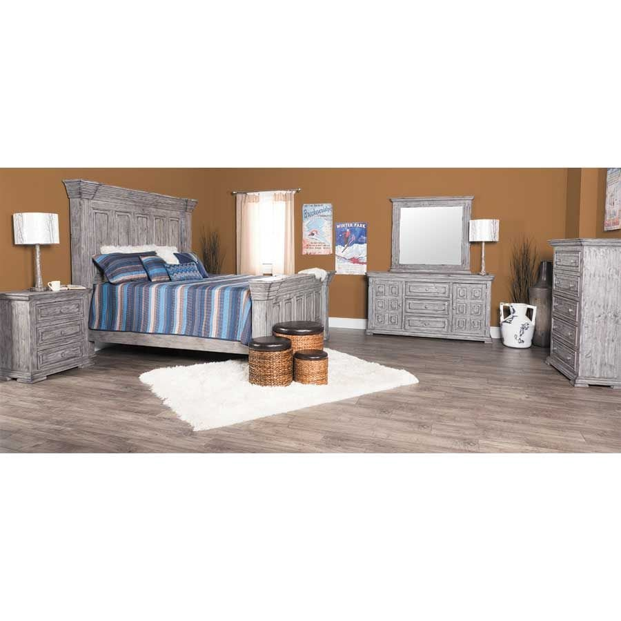 Picture of Grey Isabella King Bed