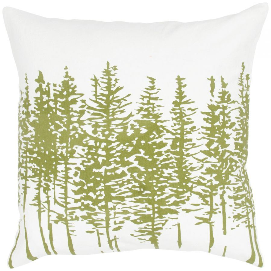 Picture of 18x18 Sage Forest Pillow *P
