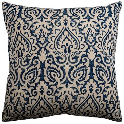 Picture of 22x22 Blue Burnout Pillow *P