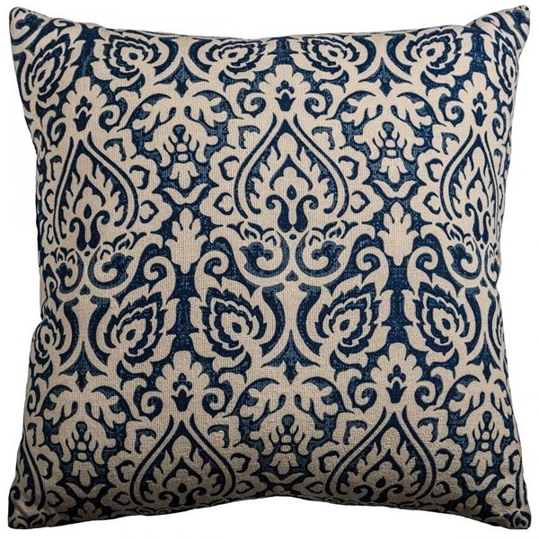 Picture of 22x22 Blue Burnout Decorative Pillow *P