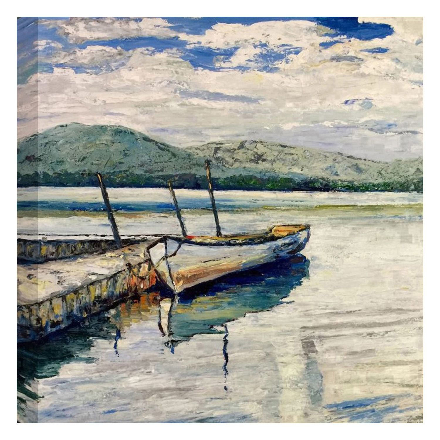 Picture of Calm Lake 36x36 *D