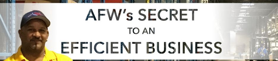 AFW's secret to an efficient business