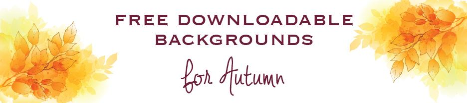 FREE Autumn Downloadables
